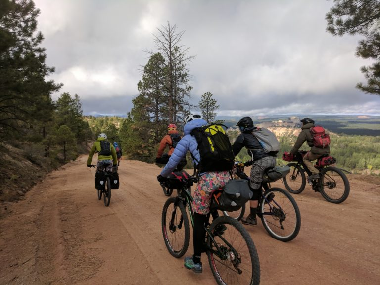 bikepacking blues