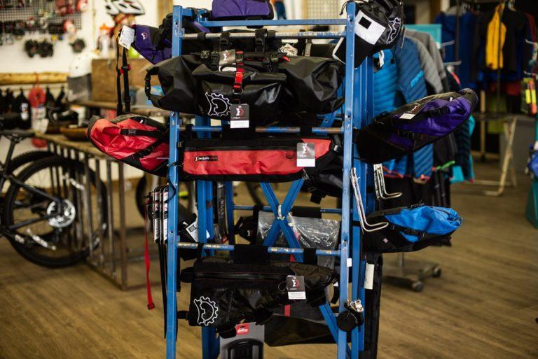 Bikepacking kits.
