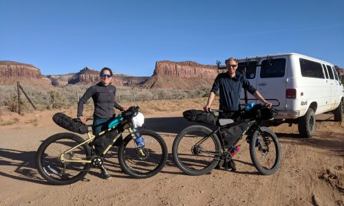 bikepacking indian creek